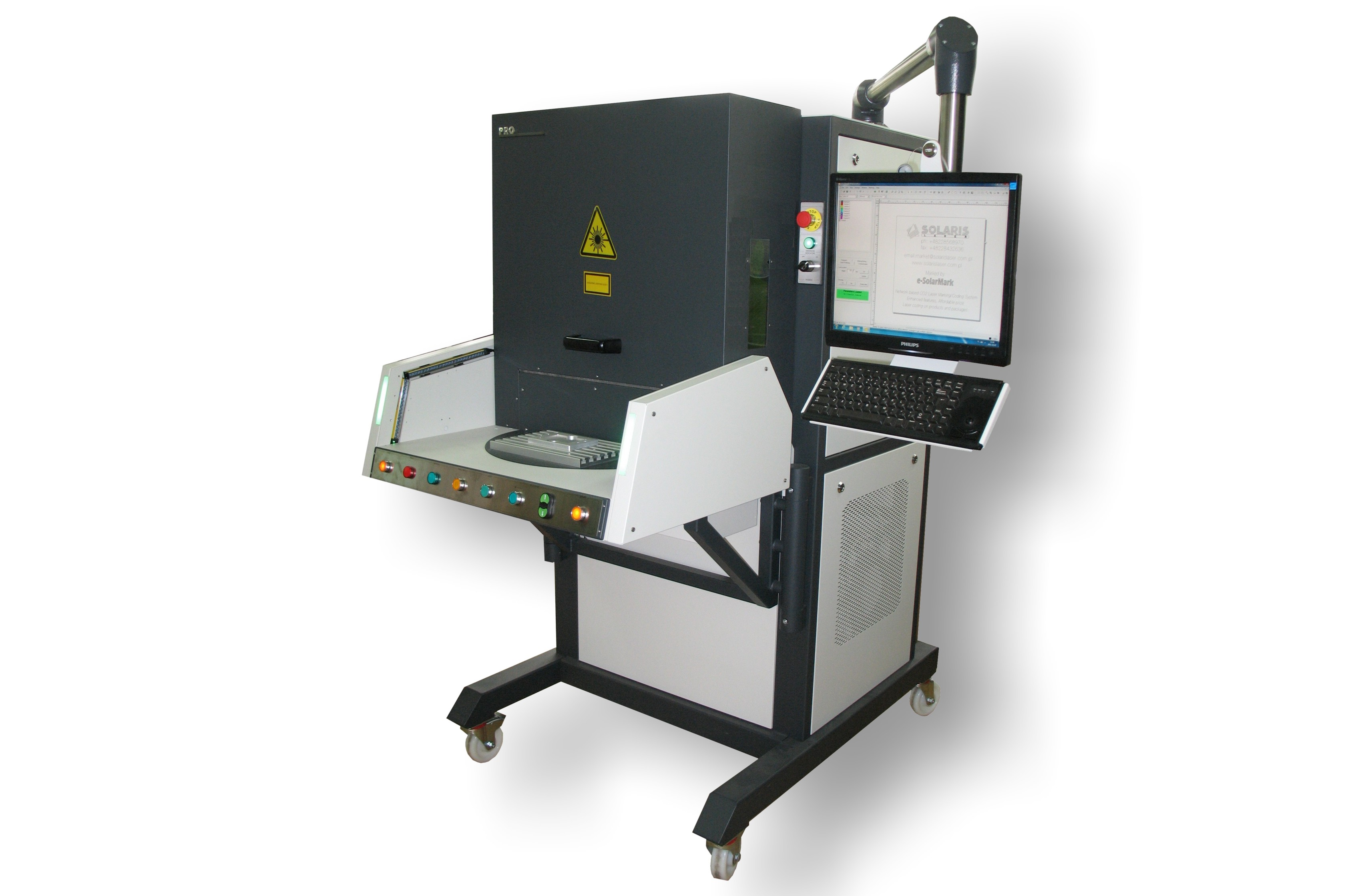 Workstation Pro Rotary Solaris Laser S A