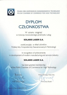 Polish Chamber of Commerce for High Technology